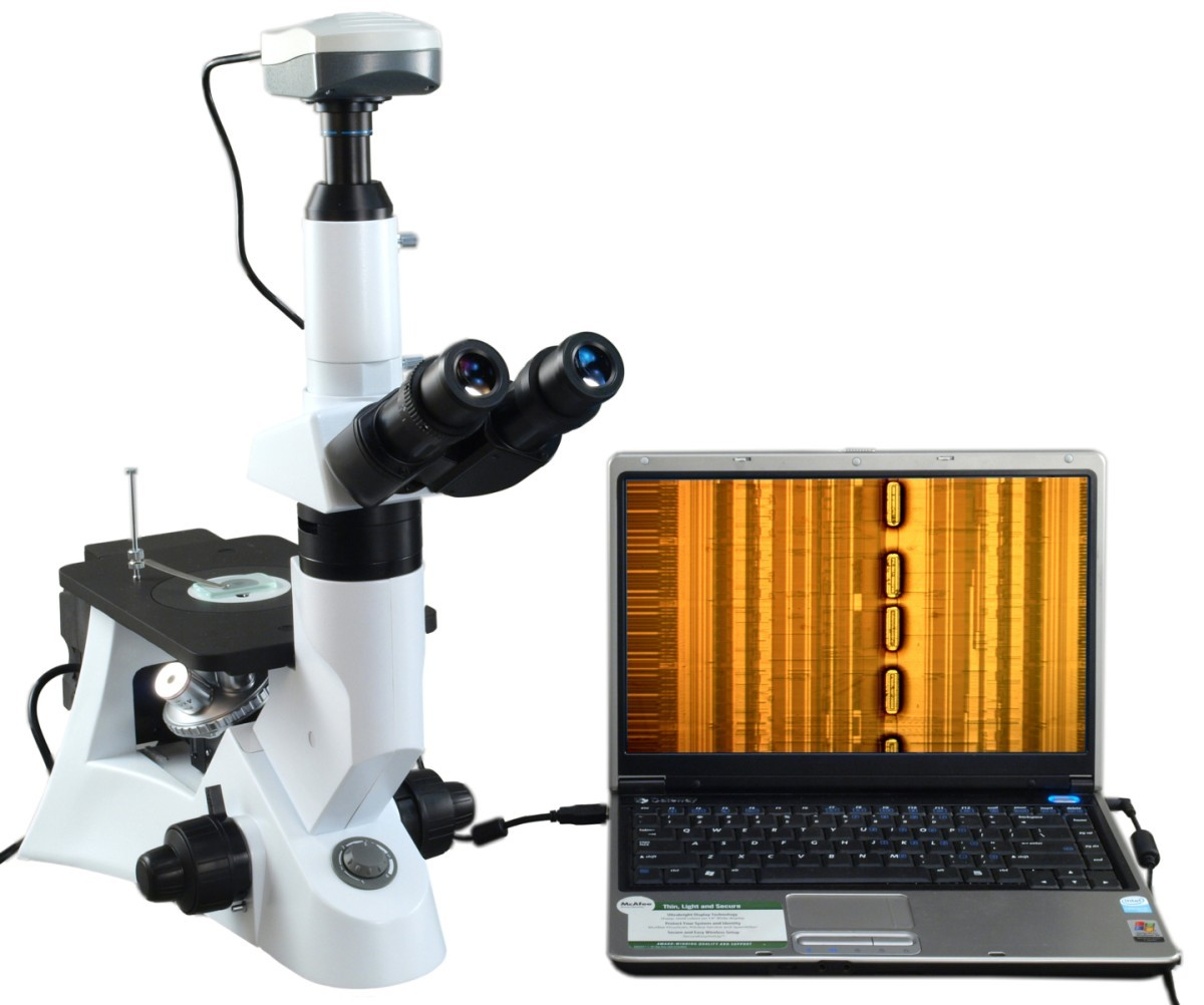 Omax Microscope Inverted Infinity Metallurgical Microscope