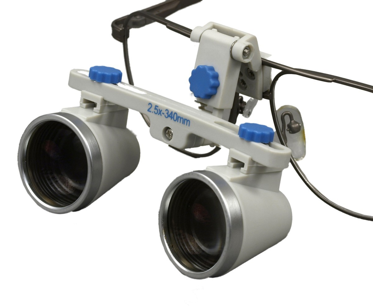 OMAX 2.5X/340mm(13 inches) Binocular Dental Surgical Loupes