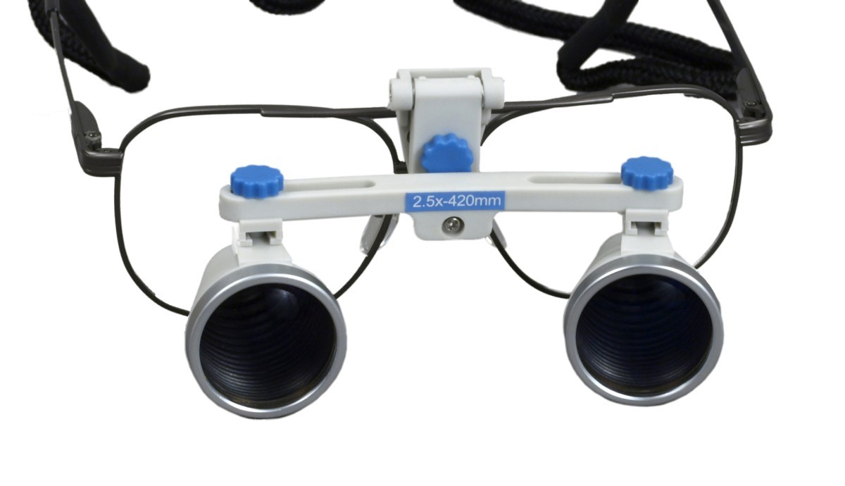 OMAX 2.5X/420mm(16 inches) Binocular Dental Surgical Loupes