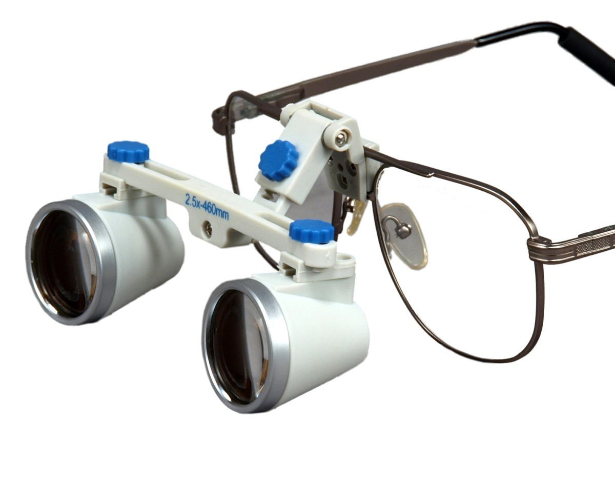 OMAX 2.5X/460mm(18 inches) Binocular Dental Surgical Loupes