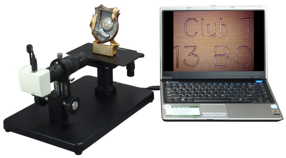 Horizontal Zoom Inspection Microscope with Standard C-Mount Port