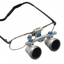 OMAX 3.5X/460mm(18 inches) Binocular Dental Surgical Loupes with Titanium Frame