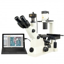 Inverted Phase Contrast Compound Microscope 40X-400X w/ 14MP Digital Camera