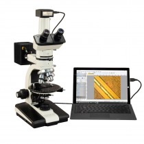 OMAX 50X-787.5X USB3 10MP Trinocular Ore Petrographic Polarizing Microscope with Bertrand Lens