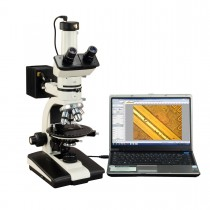 OMAX 50X-787.5X Trinocular Ore Petrographic Polarizing Microscope with Bertrand Lens and 9MP Camera