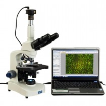40X-2000X Darkfield Trinocular Compound Siedentopf LED Microscope with 5MP Digital Camera
