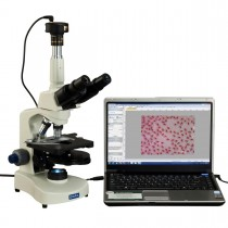 40X-2000X Phase Contrast Trinocular Compound Siedentopf LED Microscope+9MP USB Camera
