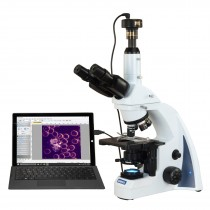 OMAX 40X-2000X 10MP PLAN Infinity Darkfield Trinocular Siedentopf LED Lab Compound Microscope