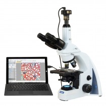 OMAX 40X-2000X 10MP Digital PLAN Infinity Trinocular Siedentopf LED Compound Biological Microscope