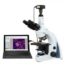 OMAX 40X-2500X 5MP USB3 PLAN Infinity Darkfield Trinocular Siedentopf LED Lab Compound Microscope