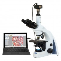 OMAX 40X-2500X Digital 14MP PLAN Infinity Trinocular Siedentopf LED Compound Biological Microscope