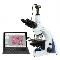 OMAX 40X-2500X 10MP PLAN Infinity Phase Contrast Trinocular Siedentopf LED Lab Compound Microscope