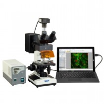 OMAX 40X-1600X USB3 10MP Digital EPI-Fluorescence Trinocular Compound Biological Lab Microscope