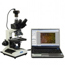 40X-2500X Advance Darkfield LED Trinocular Compound Microscope with 10MP Digital Camera