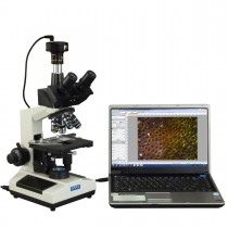 40X-2500X Advance Darkfield LED Trinocular Compound Microscope with 9MP Digital Camera