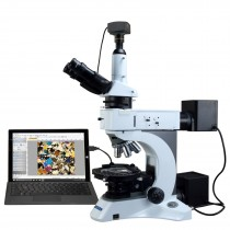 OMAX 50X-1000X Infinity EPI/Transmitted Light Polarizing Microscope + USB3.0 High Speed 10MP Camera