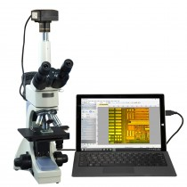 OMAX 40X-2000X 5MP USB 3.0 Infinity Trinocular Metallurgical Microscope with 100X Dry Objective