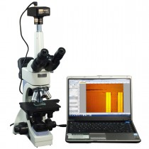 OMAX 40X-2500X Infinity Trinocular Metallurgical Microscope+Transmitted/Reflected Light+14MP Camera