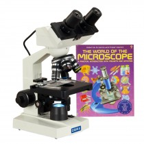 40X-2000X Built-in 1.3MP Digital Camera Binocular Compound LED Microscope with Book
