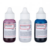 Acid Fast Stain Kit of Three Chemicals for Preparing Microscope Bacteria Slides