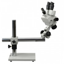 7X-45X Professional Zoom Boom Stand Trinocular Stereo Microscope