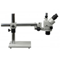 3.5X-90X Professional Zoom Boom Stand Trinocular Stereo Microscope