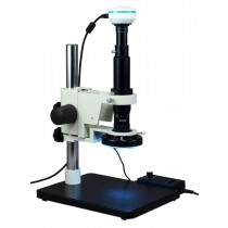 7x-90x Zoom Inspection Microscope + 2MP USB Camera 144 LED Light