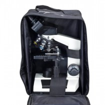 40X-1600X Binocular Compound Microscope with Vinyl Carrying Case
